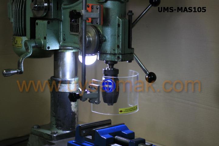 UMS-MAS105 matkap talaş siperliği uygulama